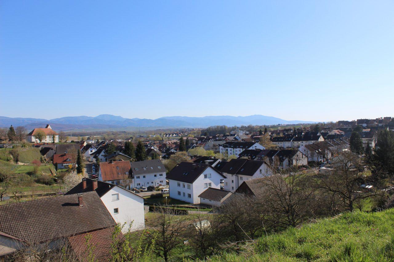 Mehrfamilienhäuser in Freiburg-Opfingen von imXpert - Blick auf Freiburg-Opfingen